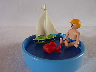 PLAYMOBIL personnages accessoires vacances loisirs enfant piscine jouet n°2