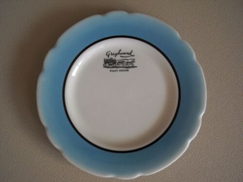 Greyhound Post House 6 Inch Plate