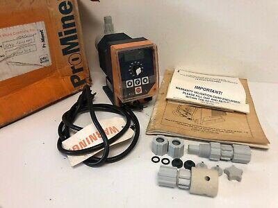 Nos Prominent .45gph Dosing Pump G4b1201pp1 000d21000 174-psi 115v