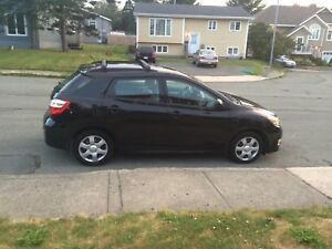 Toyota Matrix 2010 manual trans