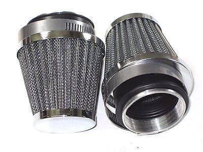 AIR FILTERS UNIVERSAL CLAMP ON AMAL 932 930 932 TRIUMPH NORTON BSA CON