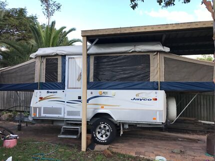 2007 Jayco Swan Outback with full annexe