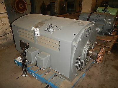600 HP Brown Boveri Electric Motor, 1800 RPM, 589US Frame, DP, 2300 V, 1.15 S.F.