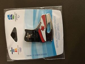 Two Olympic hockey pins