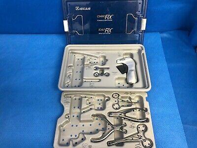Aesculap Craniofix Titanium Clamp System Scalp Clip System