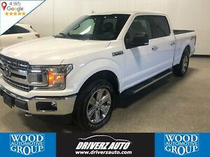 2018 Ford F-150 XLT HEATED LEATHER SEATS , PANORAMIC SUNROOF,...