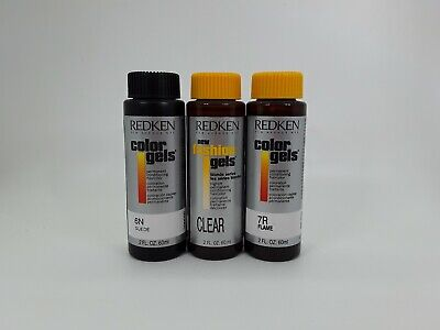 Redken Color Gels Hair Color, 2 oz *Choose From Over 20 (Fair Trade Sunglasses)