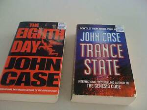 2 Books John Case The eight Day/Trance State Paperback Bargain South Perth South Perth Area Preview