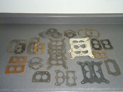New NOS Vintage Parts Lot Carburetor Gasket 32 Gaskets Holley Carter Stromberg