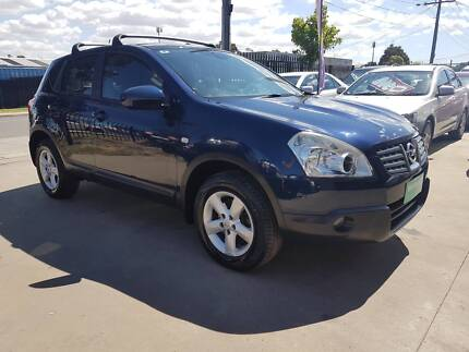 2008 Nissan Dualis SUV TI 4X4 LOW KMS Williamstown North Hobsons Bay Area Preview