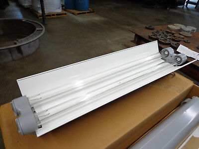 Appleton Type Efu Explosion Proof Fluorescent Light Fixture Ars240-118-esb