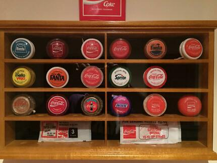 Immaculate Vintage Russell Coca-Cola Coke Yo-Yo Yoyo Collection
