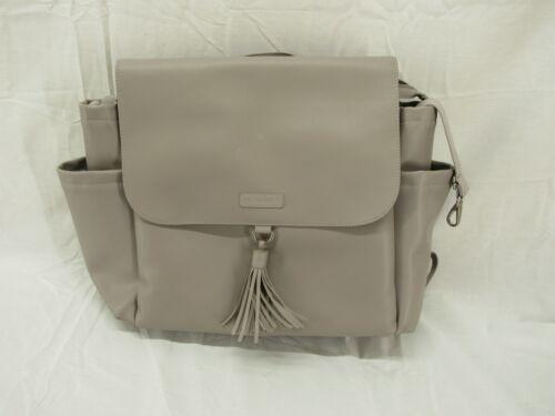 Skip Hop Greenwich Convertible Baby Diaper Bag Backpack Grey