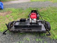 Bush Hog / Finishing Mower Tow with ATV or Garden Tractor