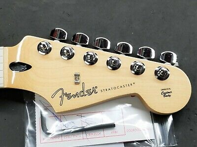 2019 Fender Player Stratocaster MAPLE NECK + CHROME TUNERS Strat Electric Guitar