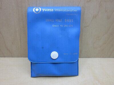 Yuasa International Small Hole Gage Set No. 290-200 .125 To .500