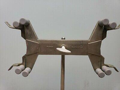 Fisher 3361-4 Castaloyr Double Dual Burette Clamp Holder