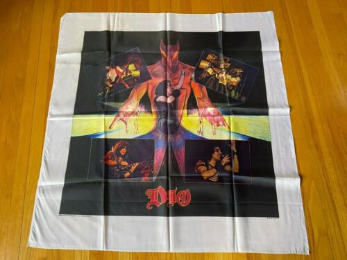 NICE RONNIE JAMES DIO TAPESTRY CLOTH BANNER NIKRY L@@K