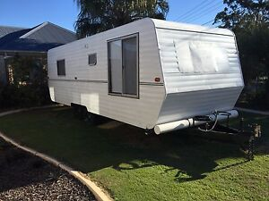 Caravan 24ft Capricorn 1990 approx Redcliffe Redcliffe Area Preview