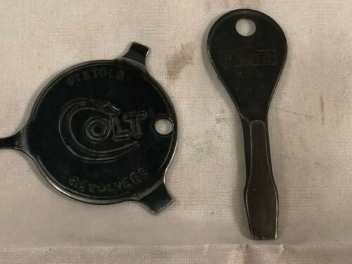 Lot of 2 Keychain Screwdriver Tools, Colt & Proto