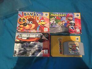 N64 / Nintendo 64 games Mario Party 3 Banjo Tooie Mario Kart Sefton Bankstown Area Preview