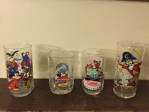 """Collectible Drinking Glasses - Disney, Asterix, McDonald""""s, Beer"""