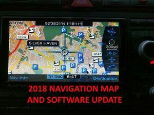 2018 AUDI SEAT RNS-E  NAVIGATION PLUS SAT NAV DISC FULL UK FIRMWARE UPDATE GPS