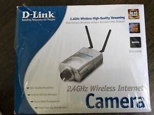 D-Link 2.4GHz Wireless Internet Camera
