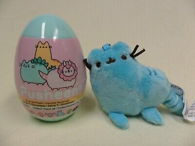 Gund NEW Pusheen Blind Box BLUE DINOSHEEN Dinosaur Plush Cat Egg Mini Series 9