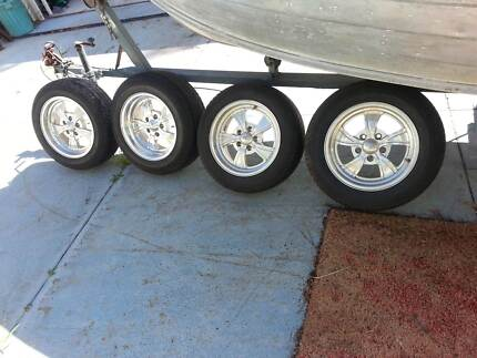Twisted Vista billet mag wheels and tyres
