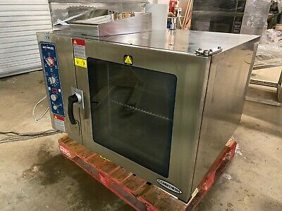2012 Alto Shaam 7.14 Esgs Combitherm Natural Gas Cooking Ovensteamer 828 Watts
