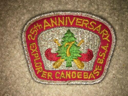Boy Scout BSA Region Seven 7 Explorer Canoe Base Landing Wisconsin 25th Patch
