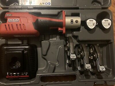 Ridgid 57363 Rp 241 Compact Press Tool Kit With 12-1propress Jaws
