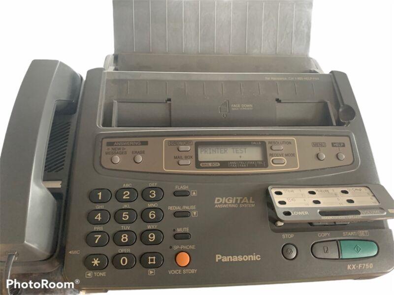 Panasonic KX-F750 Telephone Answering System, Fax, Copy, Telephone