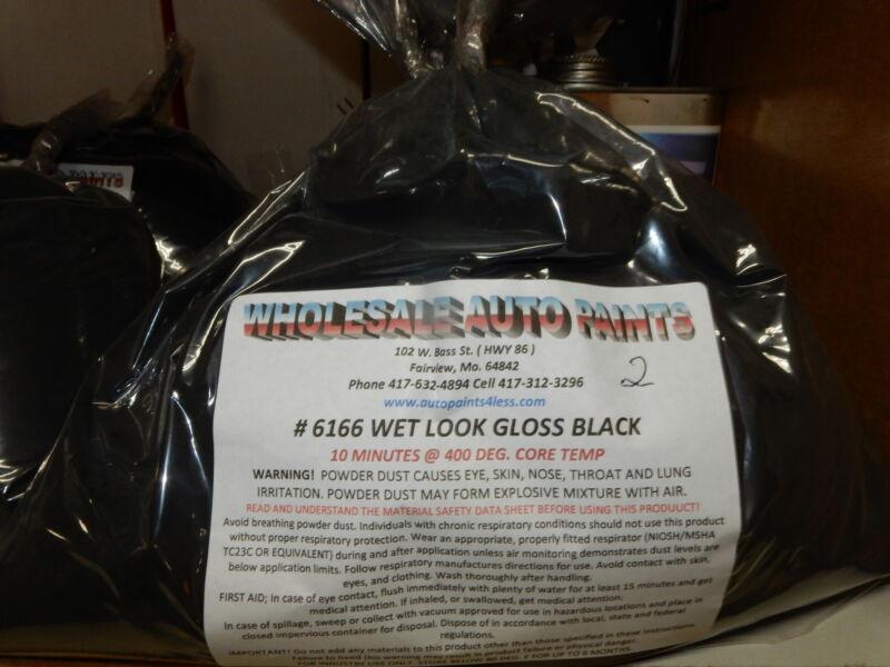 2 lb NEW Wet Look Gloss Black TGIC Exterior Super Durable Powder Coat Paint