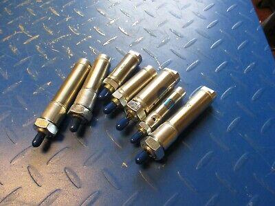Lot Of 7 Bimba Pneumatic Cylinder 261112t New