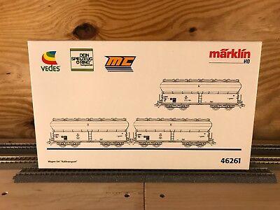 Marklin 46261 HO - Potash Transport Car Set (3 Cars) - Brand New