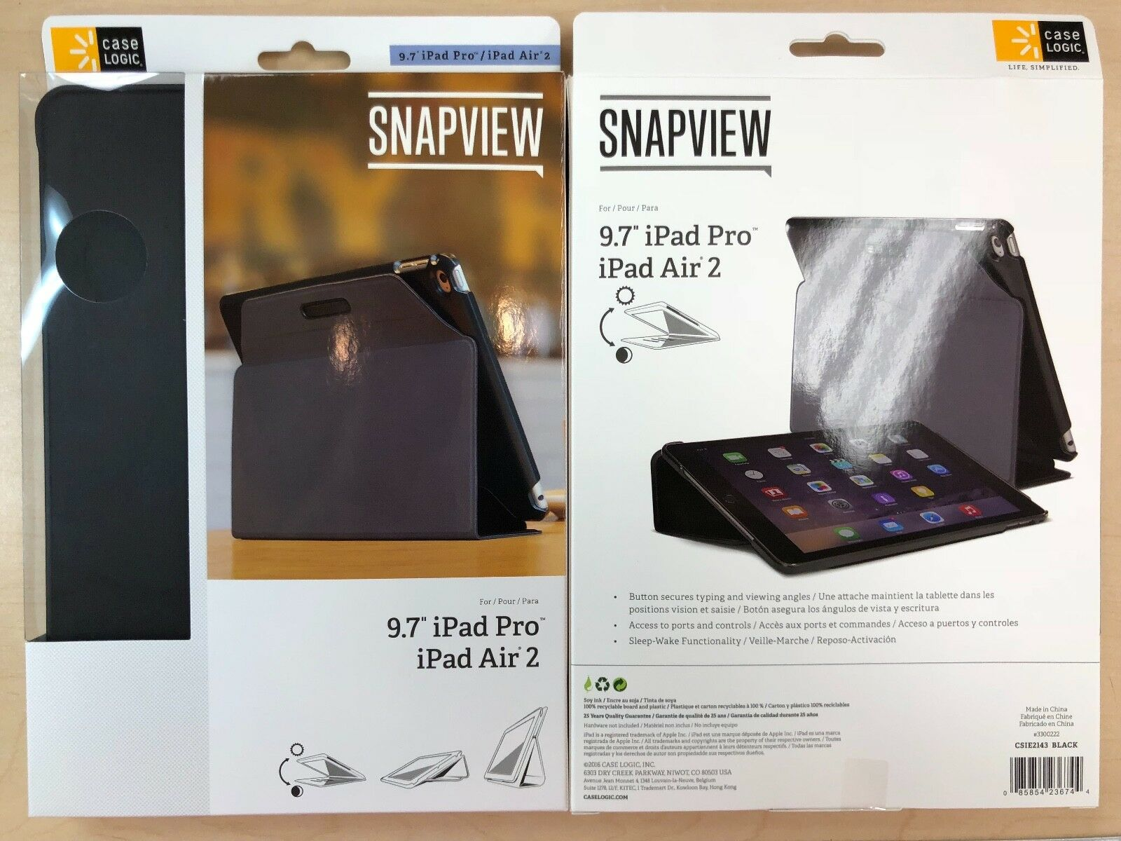 """SnapView 2.0 CSIE-2143 Carrying Case  for 9.7"""" iPad Air 2, i"""