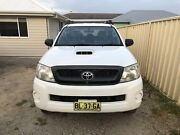 2011 Toyota Hilux Sr (4x4) Dual Cab P/up Killarney Vale Wyong Area Preview
