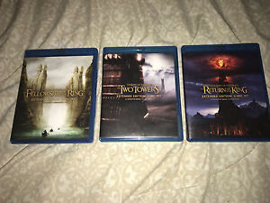 Lord of the Rings Trilogy! Perfect condition! Never used!