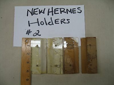 Used Plastic Holders 2 Sets For A New Hermes Engraving Engraving Machiine