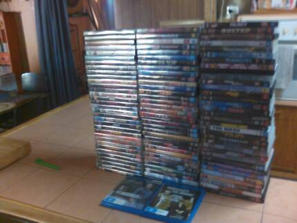 105 DVDS & 2 Blu Rays Goroke West Wimmera Area Preview