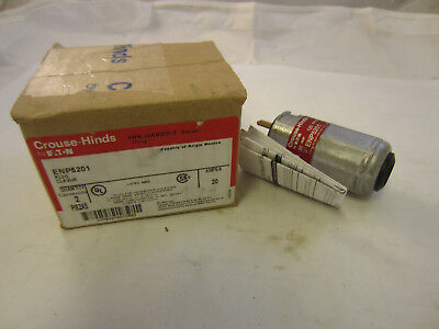1 Crouse Hinds Enp5201 Explosion Proof 20 Amp 120v Plug New  Ecp2023