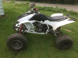 2013 trx450 may trade for crf 450