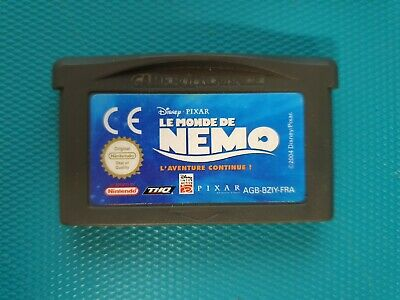 NINTENDO GAMEBOY ADVANCE GBA : disney pixar - Le Monde De Nemo