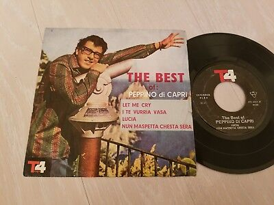 PEPPINO DI CAPRI - THE BEST OF / LET ME CRY IRAN 7