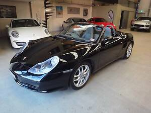 2002 Porsche Boxster 2.7 manual Cremorne Yarra Area Preview