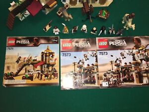 Lego Prince of Persia Sets 7573 and 7571