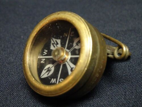 Marbles Arms Gladstone Vintage Coat Clip on Hiking Compass Mich Vintage