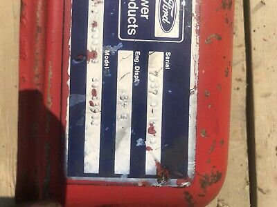 Ford Valve Cover 134 172 192 Gas Industrial Engine Gehl